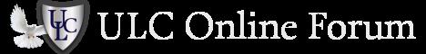 Universal Life Church Online Forum