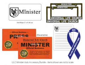 Minister Auto Accessory Bundle - ulc.net