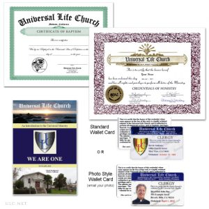 Mini Clergy Package - ulc.net